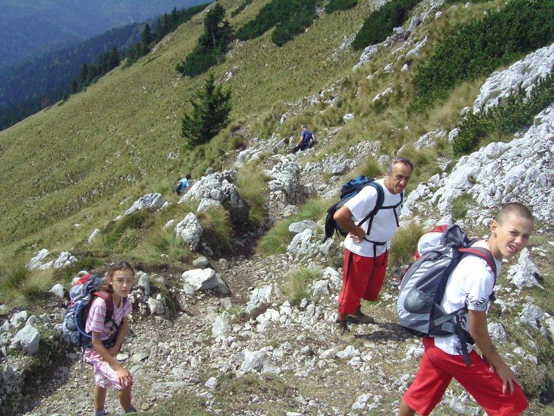 naše priprave za v gore